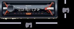Imagen de Receptor multimedia con USB