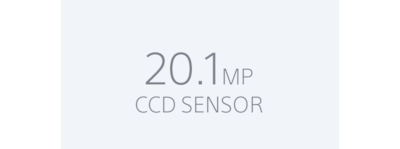 Sensor Super HAD CCD de 20.1 MP