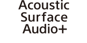 Logotipo de Acoustic Surface Audio+