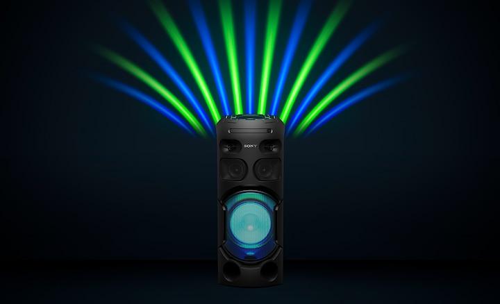 Sistema de audio de alta potencia con tecnología BLUETOOTH® V41D