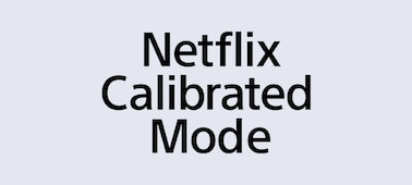 Logotipo del Netflix Calibrated Mode