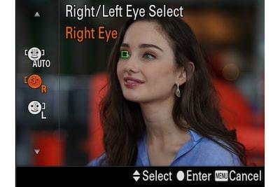 Selección de ojo para cumplir tus necesidades